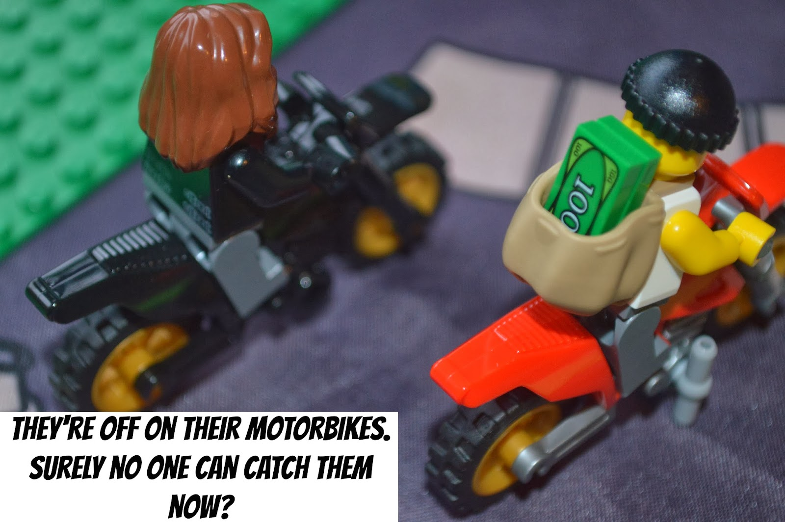 Carcraft Lego City High Speed Police Chase Danny