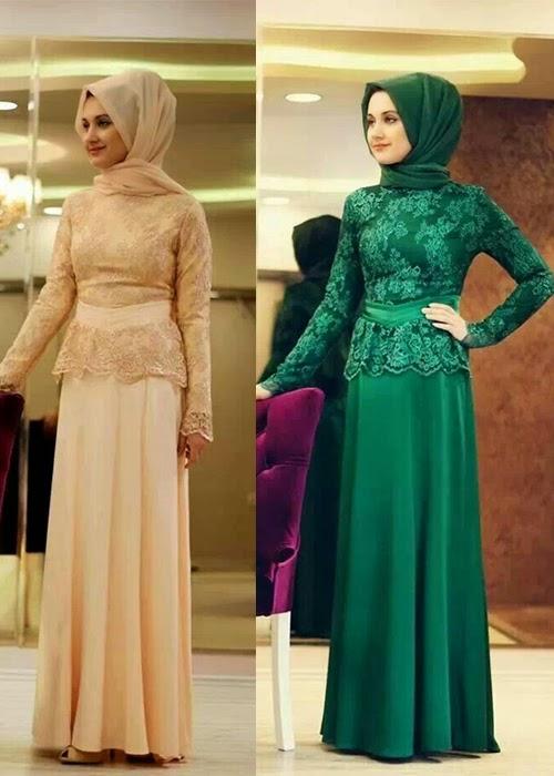 Inspirasi Dress Pesta Ala Turki Untuk Anda Yang Ingin