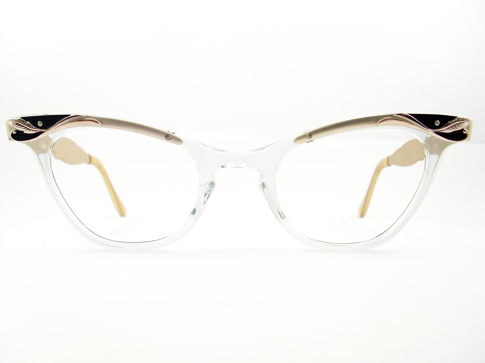 Glasses Frames Cat Eye : Vintage Eyeglasses Frames Eyewear Sunglasses 50S: VINTAGE ...