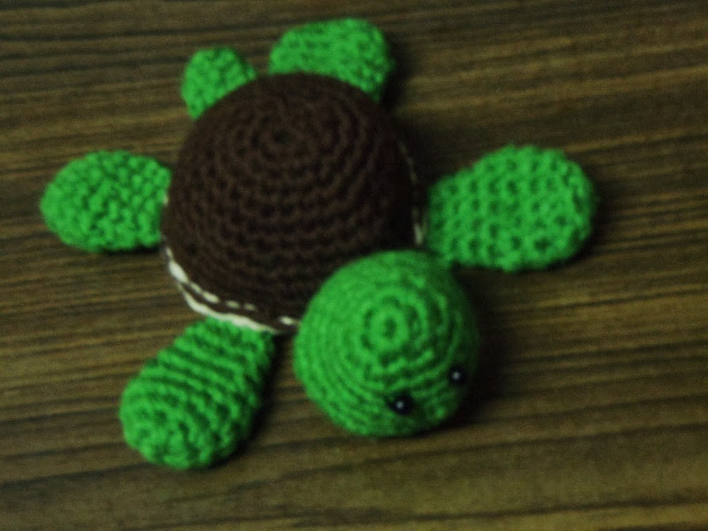 Turtle Amigurumi free pattern ~ Free Crochet Patterns