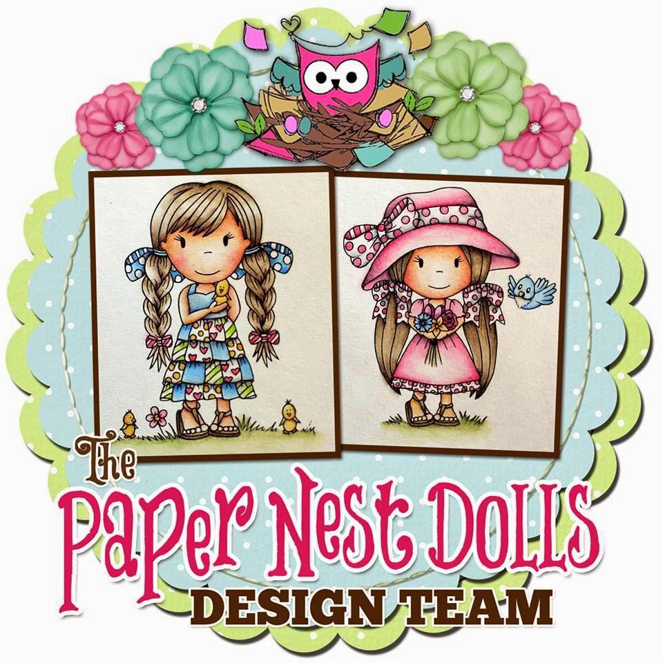 Lid van het DT-team - PaperNestDolls