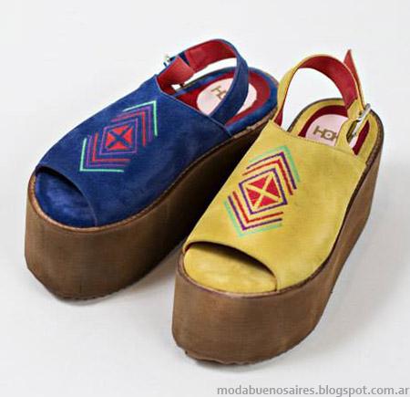 Sandalias moda primavera verano 2015 Hoku Shoes.