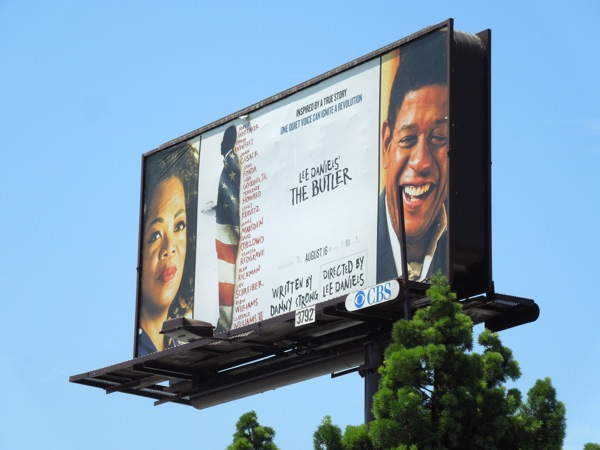 Lee Daniels The Butler movie billboard