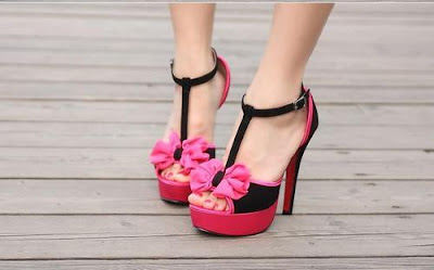 Awesome Pink High Heels