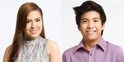 Nash Aguas and Alexa Ilacad