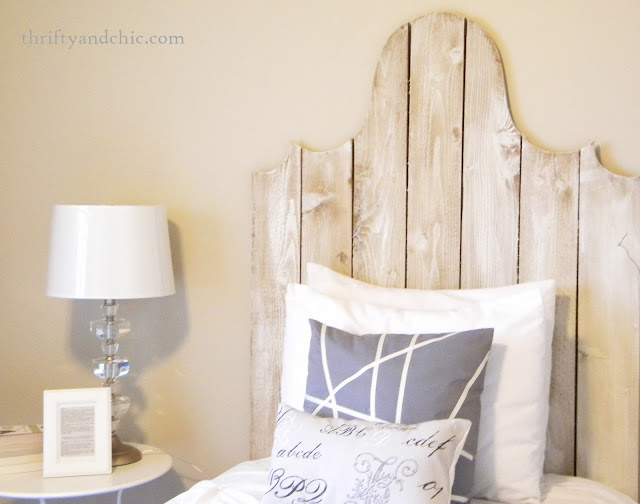 diy french headboard