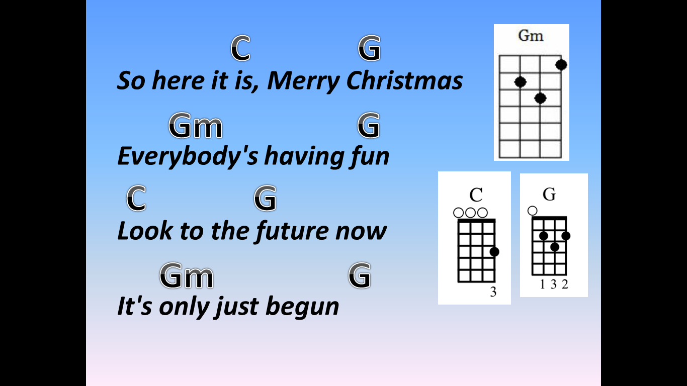 Mr Robbie's Music Blog ♫: Merry Christmas Everyone - Lyrics and ...