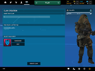 Ghost Recon Online - Clan Creation
