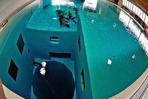 Cu l es la piscina m s profunda del mundo los preguntones for Piscina 5 metros diametro