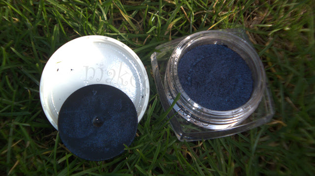 Loreal Infallible Eye Shadow 006 All Night Blue Swatches