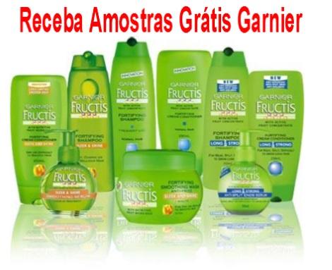 Receba Amostras Grátis Garnier