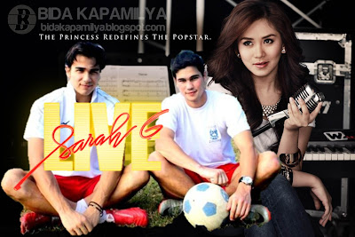 Phil and James Younghusband take Sarah Geronimo on a soccer date this August 19 on Sarah G Live