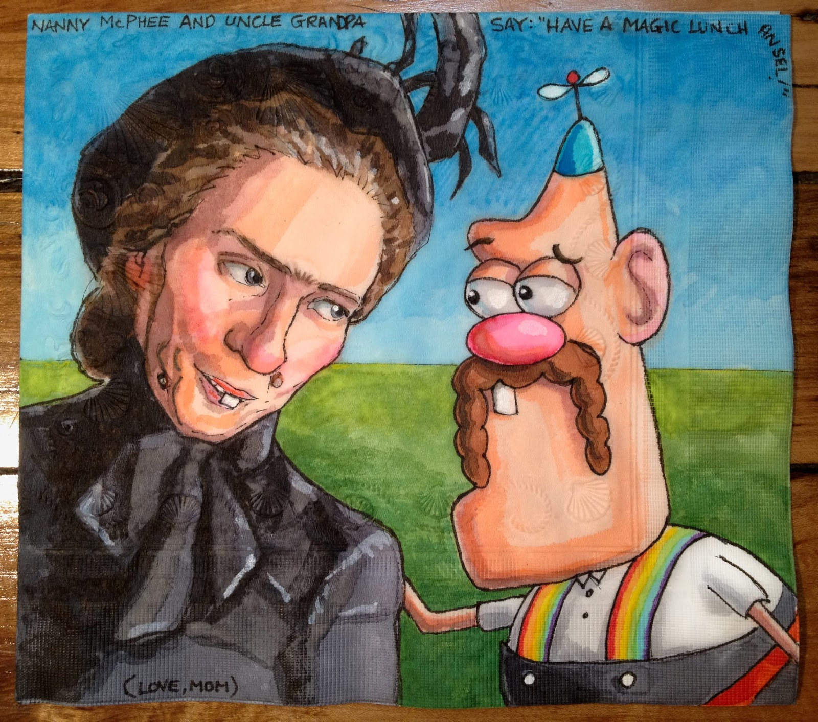 Nanny McPhee and Uncle Grandpa Compare Notes and Orthodontic Histories