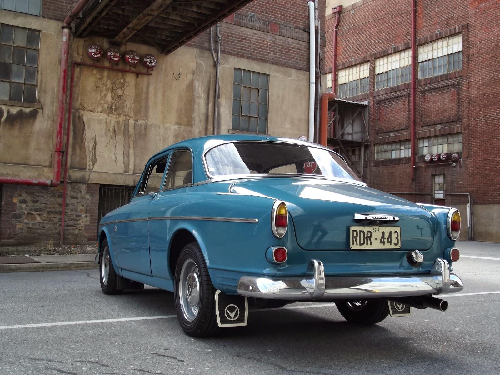 Volvo 122S mediterranean blue 99