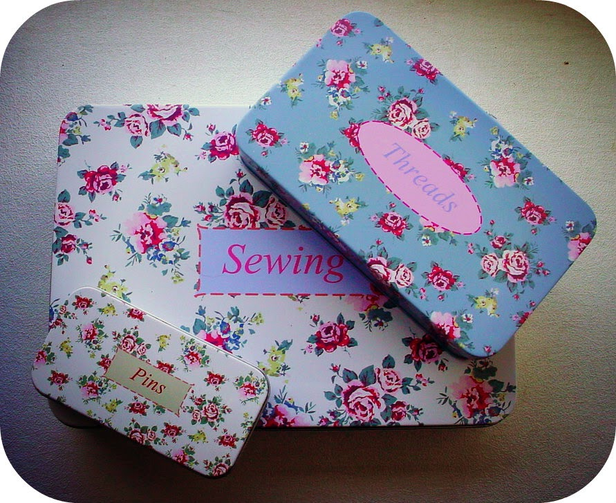 After Hours...: Sewing bits and bobs get organized