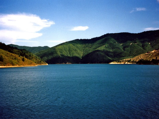 Marlborough Sounds Cook Strait