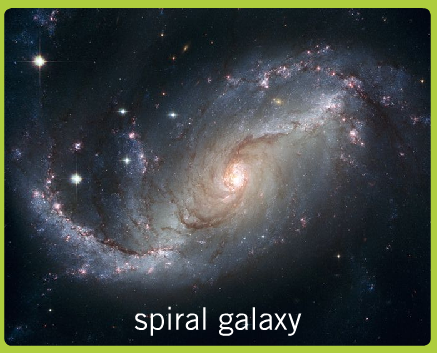 Spiral Galaxies Labeled - Pics about space