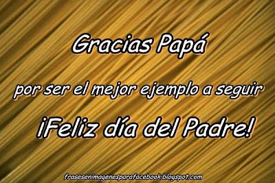 gracias padre