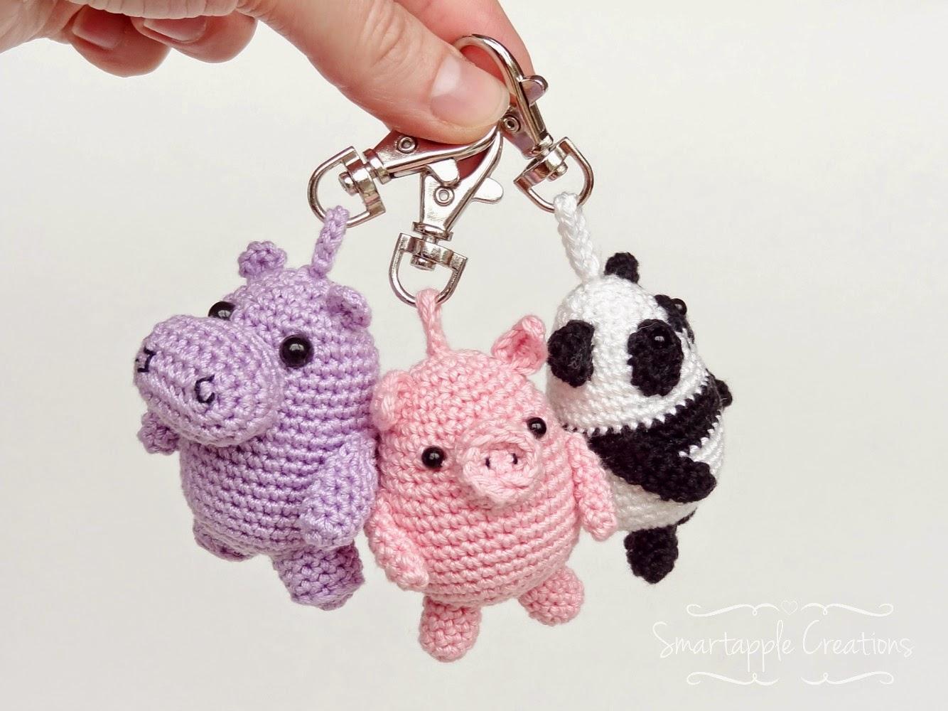 Amigurumi Keyring Pattern : Smartapple Creations - amigurumi and crochet: Amigurumi ...