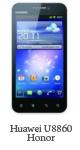 Spesifikasi Huawei U8860 Honor