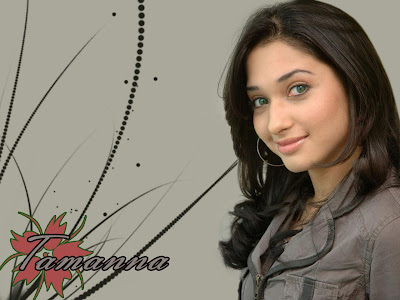 Telugu Actress Tamanna Beautiful Wallpaper