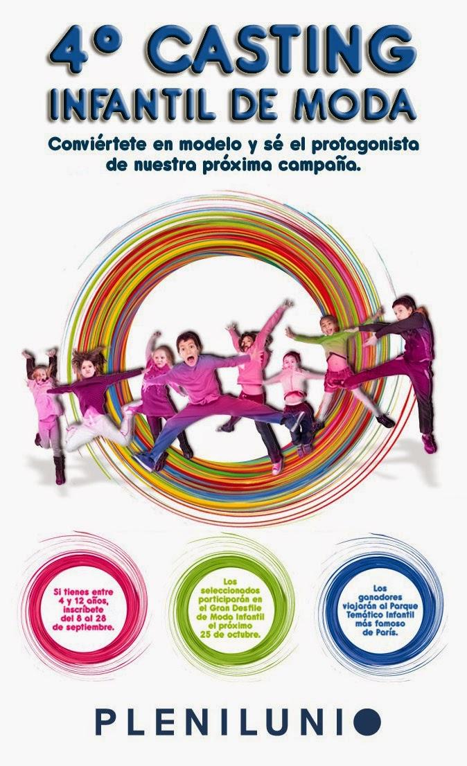 Concurso CASTING DE MODA INFANTIL 2014 PLENILUNIO