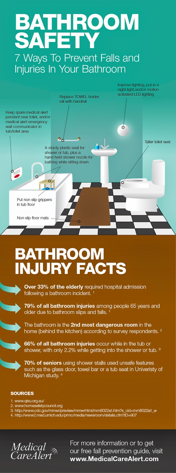 . Survey of Bathroom Fall Prevention Equipment