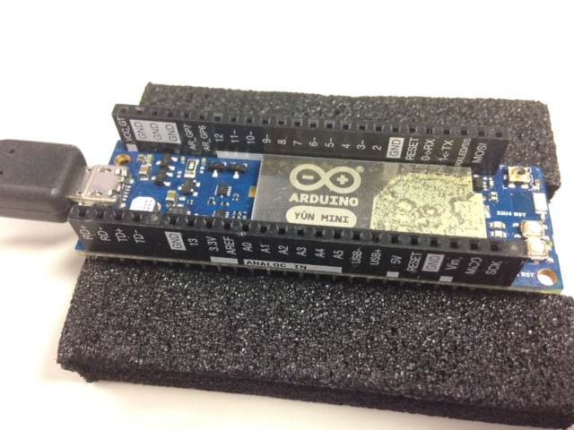 Arduino yun mini 使い方 analogic intelligence