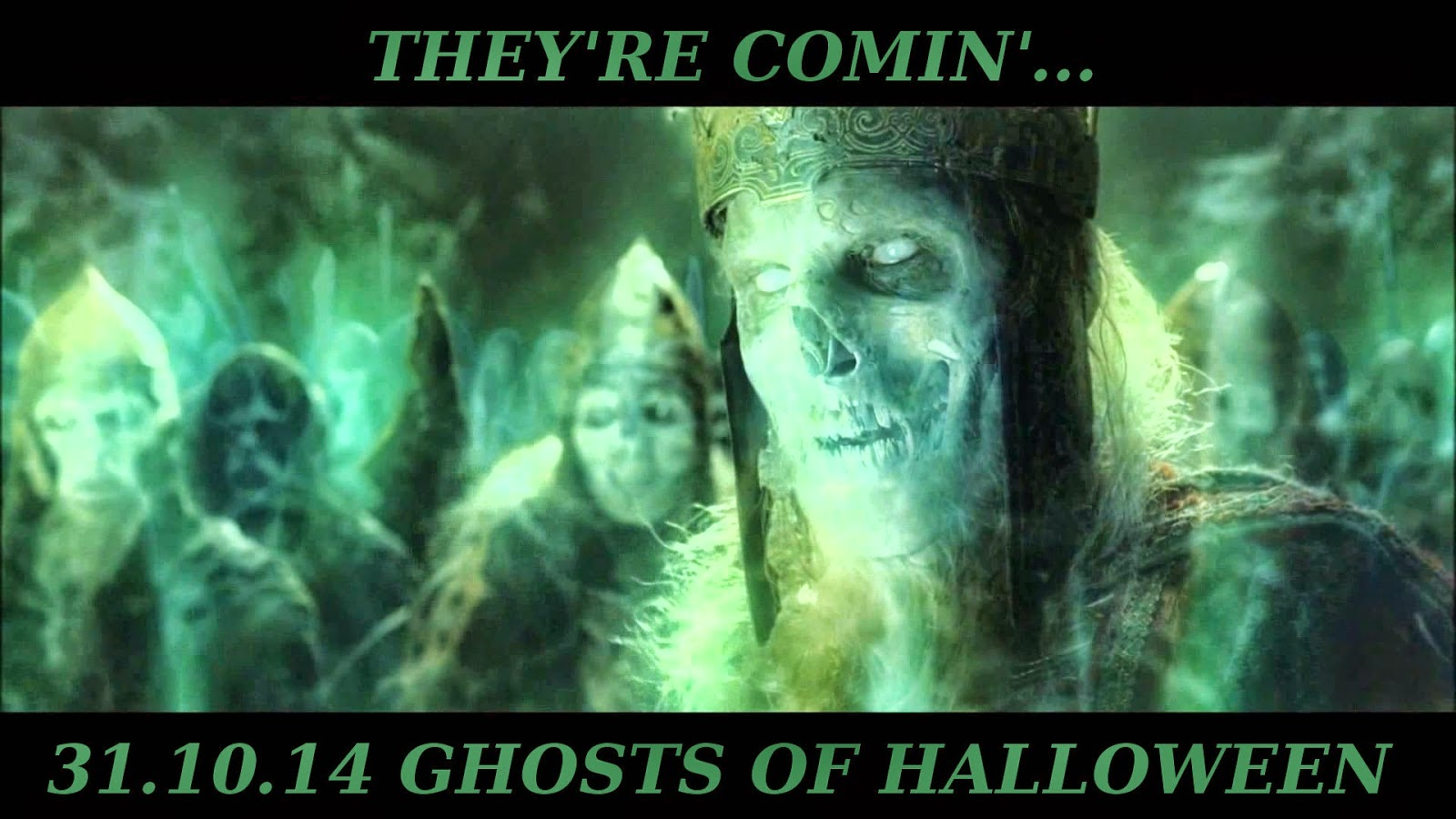 Ghosts of Halloween - 31/10/2014