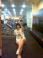 Gizella Maret 2014 at gym