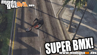 V - Mod Super BMX para GTA V PC