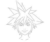#3 Sora Coloring Page