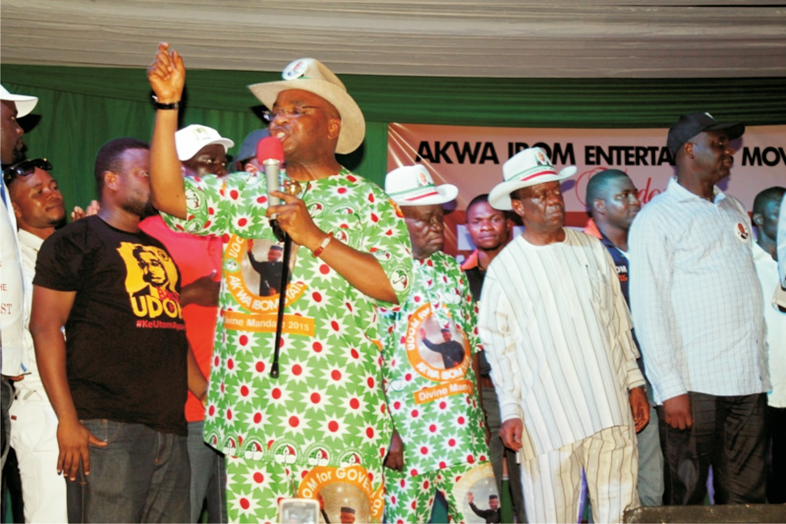 Udom fetes A'Ibom Entertainers, assures on private sector devt
