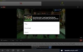 Download Video Youtube di Android Dengan TubeX v1.7.2
