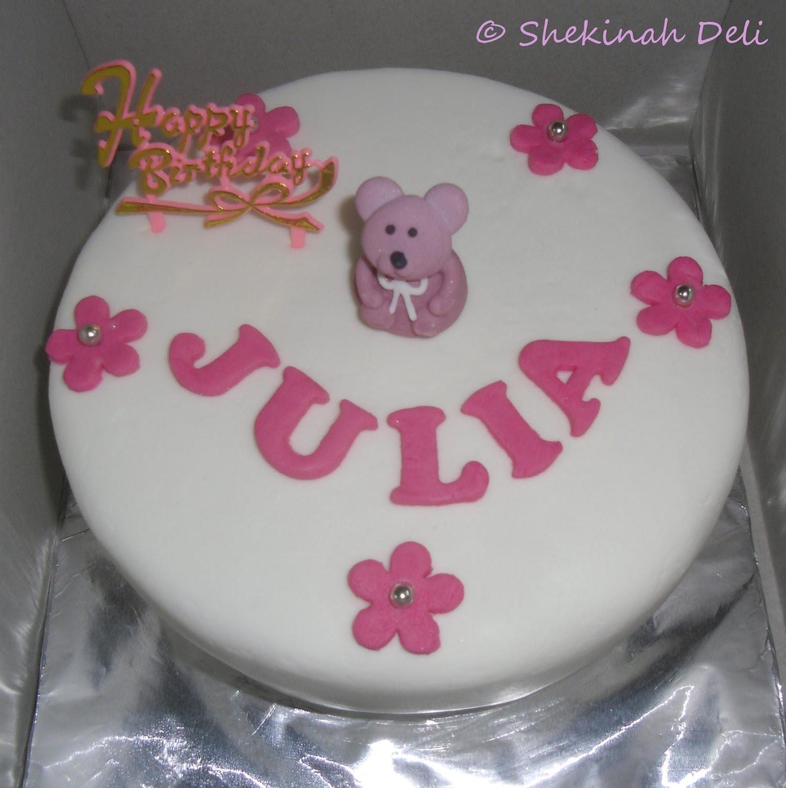 Shekinah Deli Julias Birthday Cakes