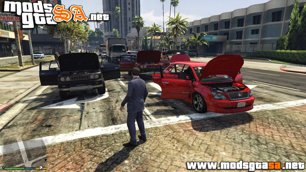 V - Mod Deadly Car Doors (Abrir Portas) para GTA V PC
