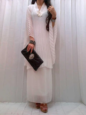 Maxi Dress Plisket Kode 88-55167