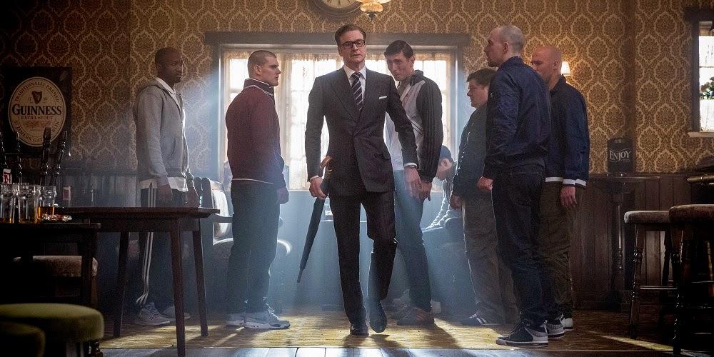 Colin Firth em KINGSMAN: SERVIÇO SECRETO (Kingsman: The Secret Service)