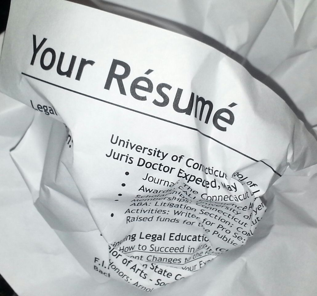 the ocr lawyer  avoid the top 10 resume mistakes