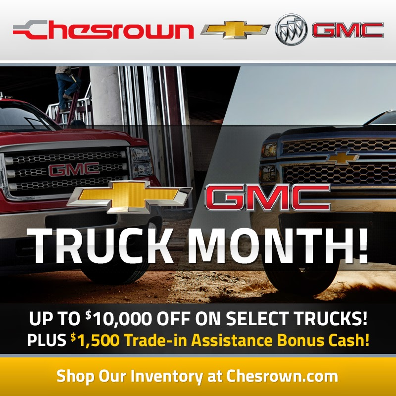 It's Truck Month at Chesrown in Delaware, Ohio!