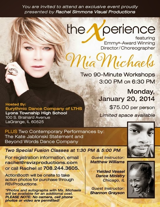 """Expecting His Greater' Leadership and Dance Workshop"""""""
