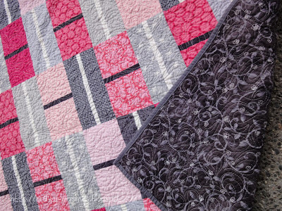 Shades of Beautiful - another quilting detail shot