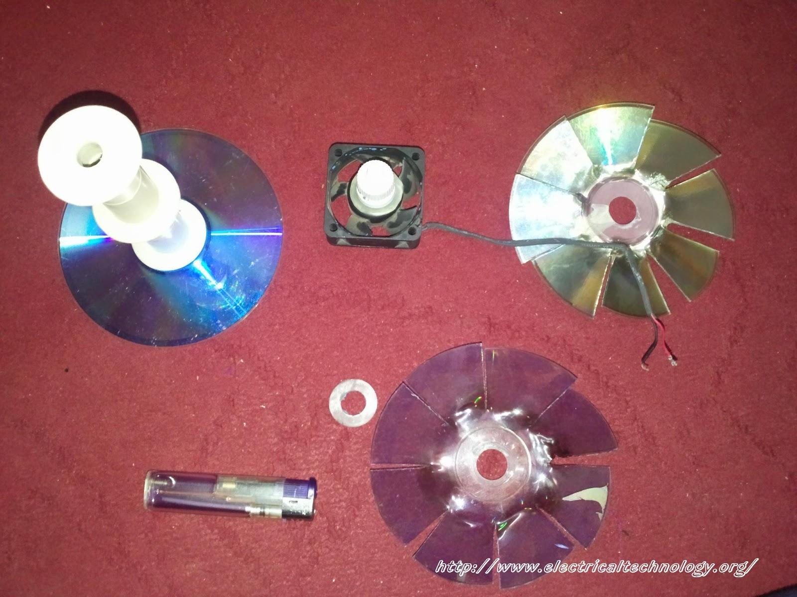 Usb Mini Fan Homemade Very Simple Using Pc 12v Fan Motor