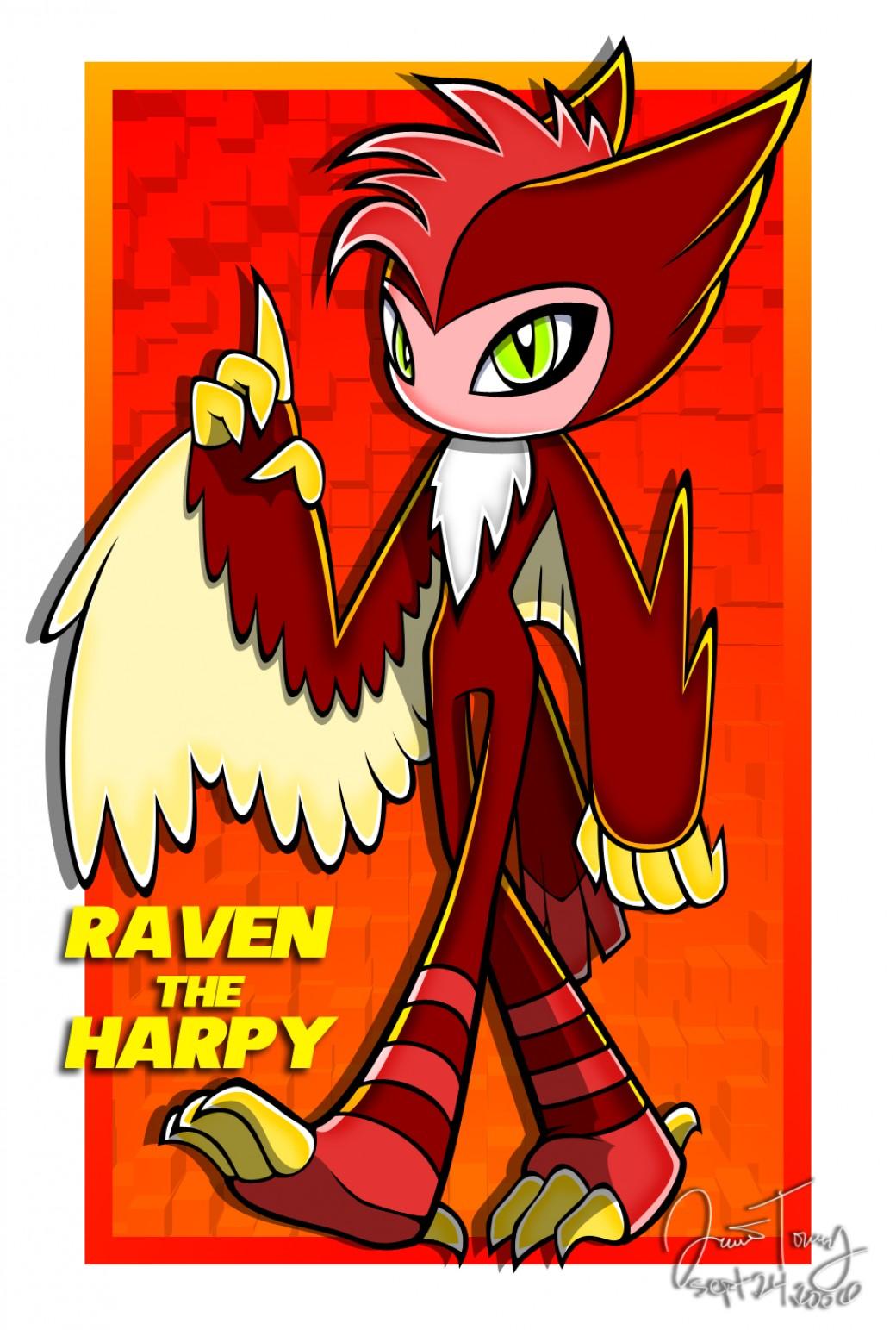 Raven the Harpy por BlazeTBW