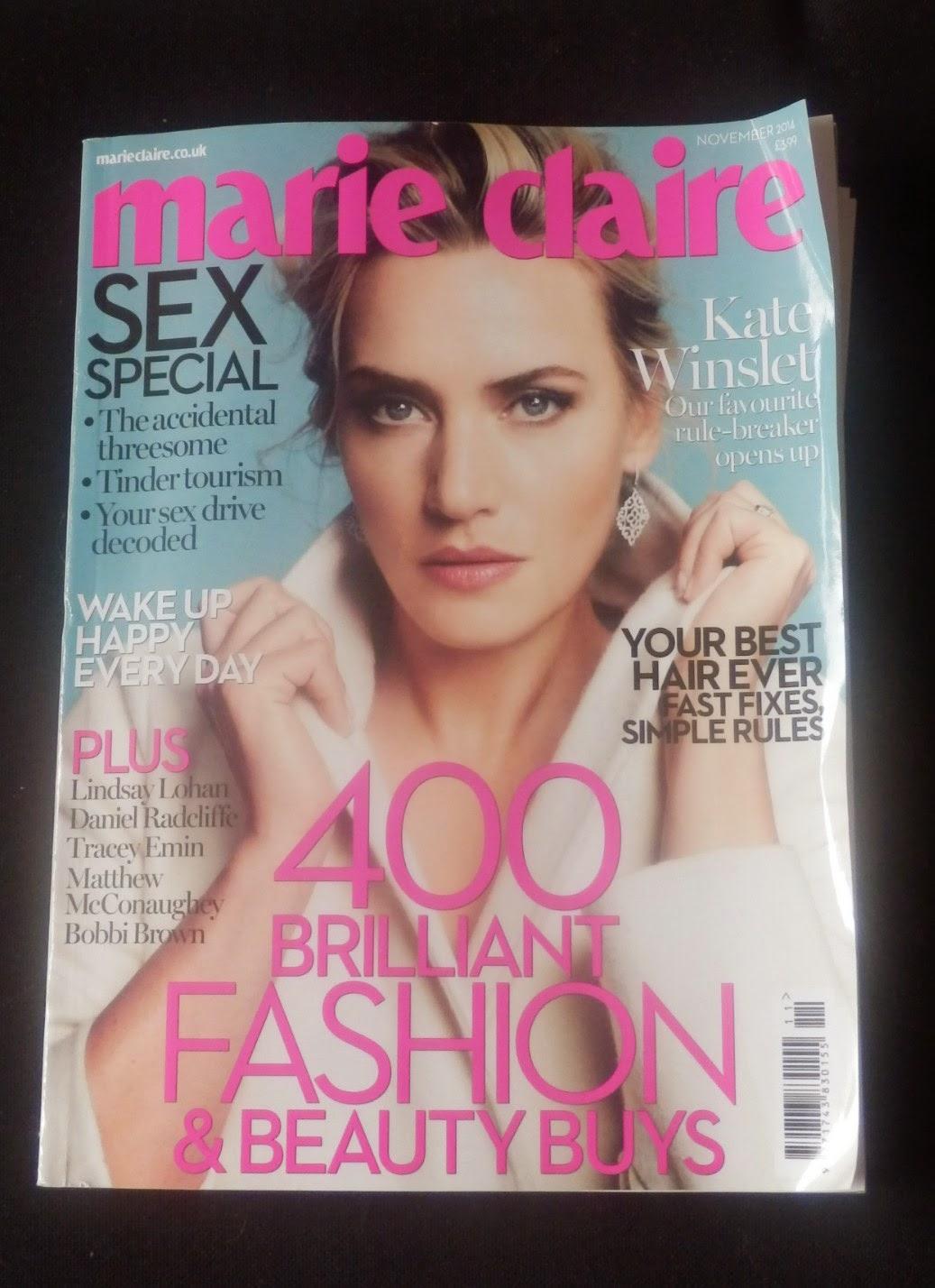 Marie Claire Magazine November 2014