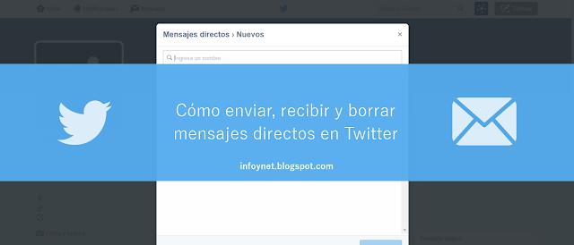 Cómo enviar, recibir y borrar mensajes directos en Twitter