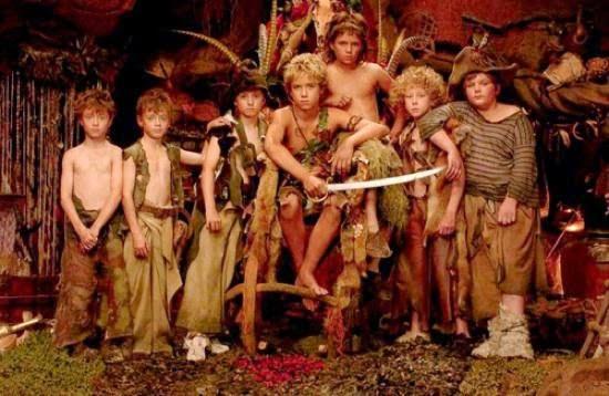 Les enfants perdus dans Peter Pan, de PJ Hogan (2003)