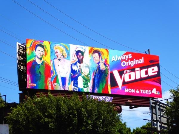 The Voice season 9 Always original billboard