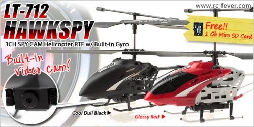Helicóptero Egofly LT-712 Hawkspy