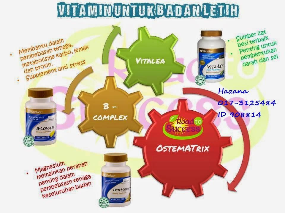 vitamin untuk lemah badan
